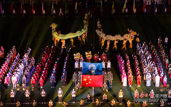 儋州举办传统民俗文化节